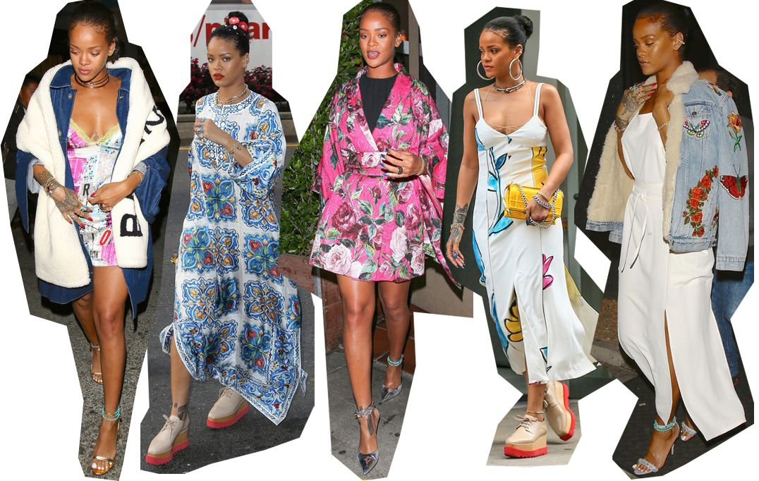 The perfect summer wardrobe, according to Rihanna