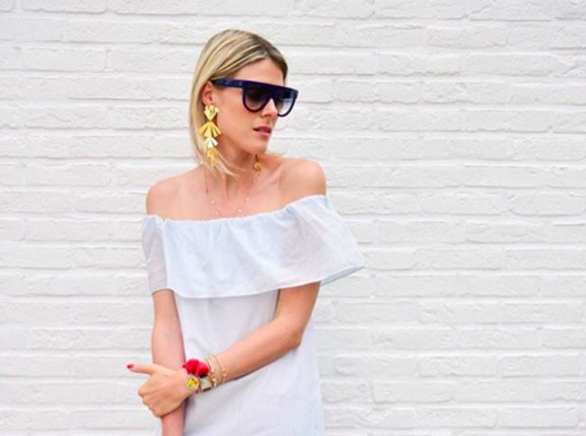How to stay stylish when it's hot (by wearing a summer dress)