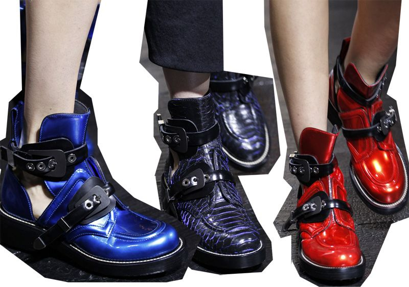 Chiara Ferragni gives you all the good reasons for getting Balenciaga Ceinture Ankle boots