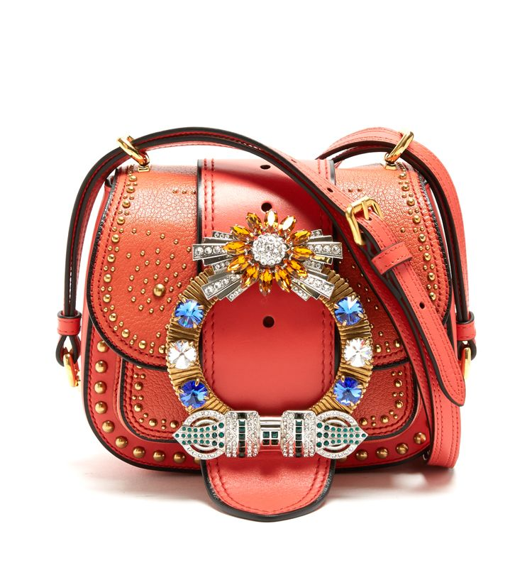 miu-miu-dahlia-bag-coral-orange-leather-swarovski-crystal-bucke-embellished