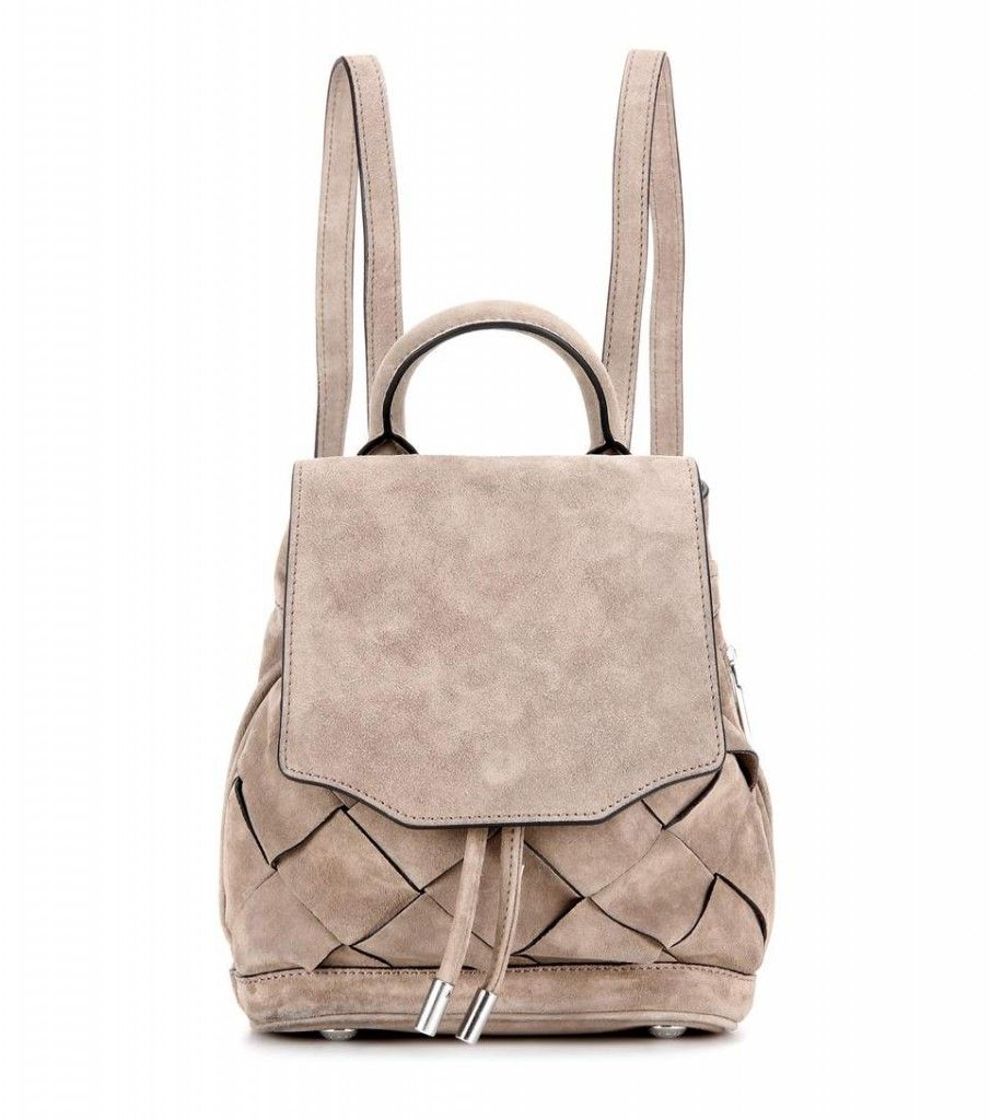 LAIA'S PICK: Rag & Bone Micro Pilot suede backpack