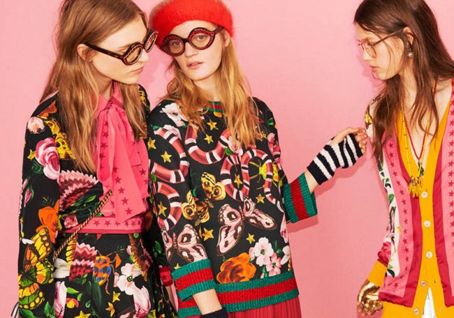 Veronika Heilbrunner debuts Gucci Garden collection