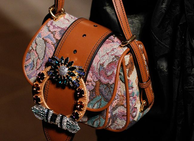 Models love this bag, fashion girls will adore its bejeweled version