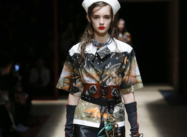 You can now shop Prada ready-to-wear collection online!