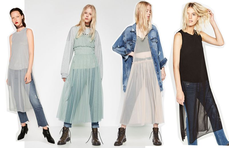 Zara Fall 2016 tulle dresses