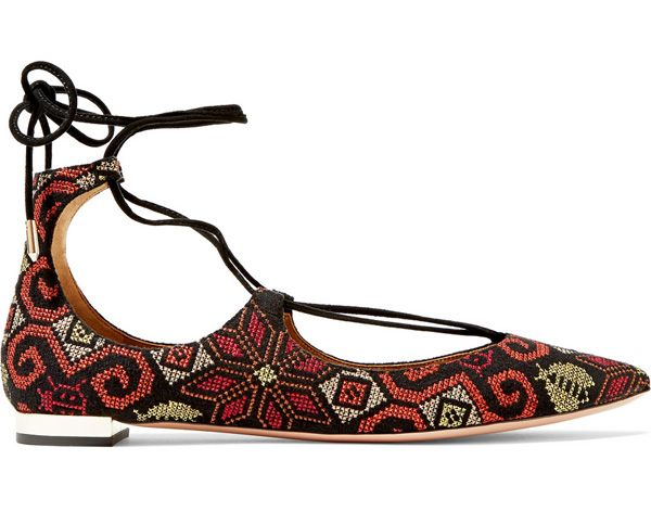shop-aquazzura-christy-embroidered-suede-flats