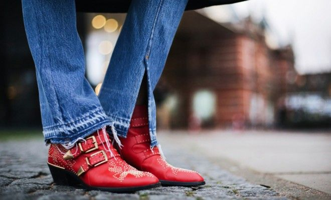 Andy-torres-chloe-susanna-ankle-boots-in-red-leather