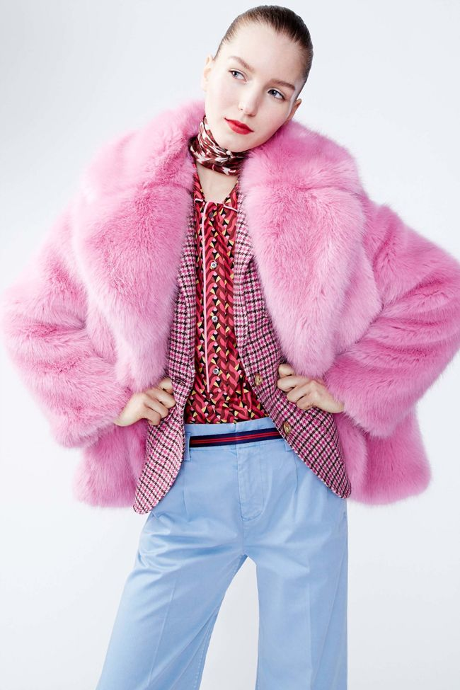 These bloggers are already wearing pink fur coats