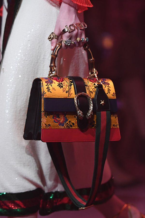 gucci-spring-2017-dionysus-embroidered-top-bamboo-handle-bag-runway-show