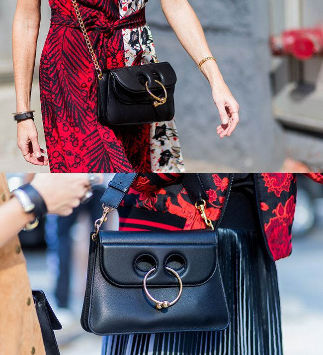 j-w-anderson-pierce-bag-street-style-outfits-new-york-fashion-week