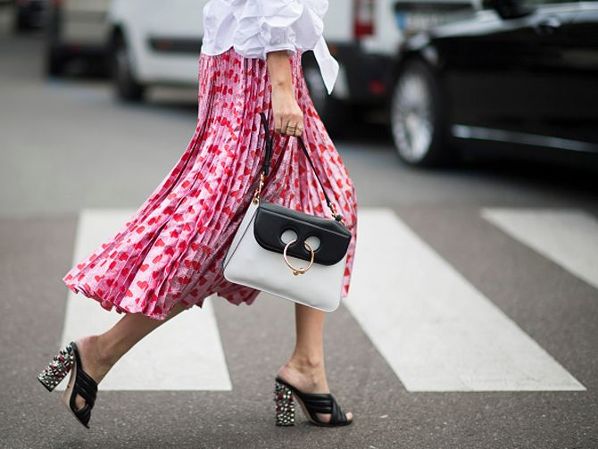 The bag that is ruling street style this fall