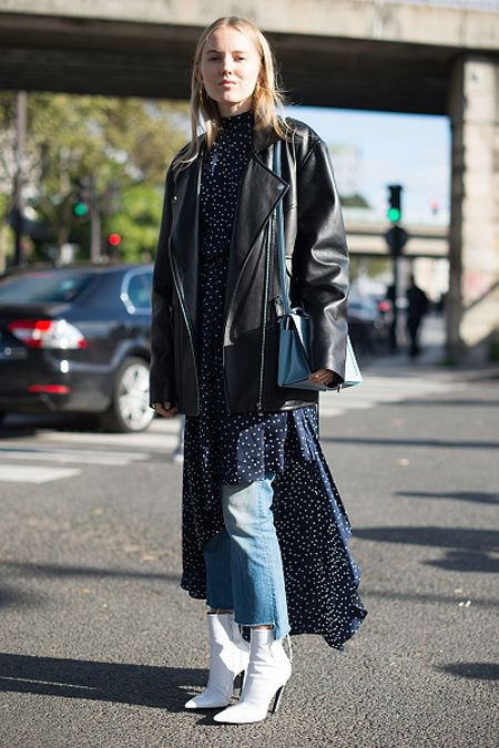 alexandra-carl-vetements-dress-over-jeans-outfit-fashion-week