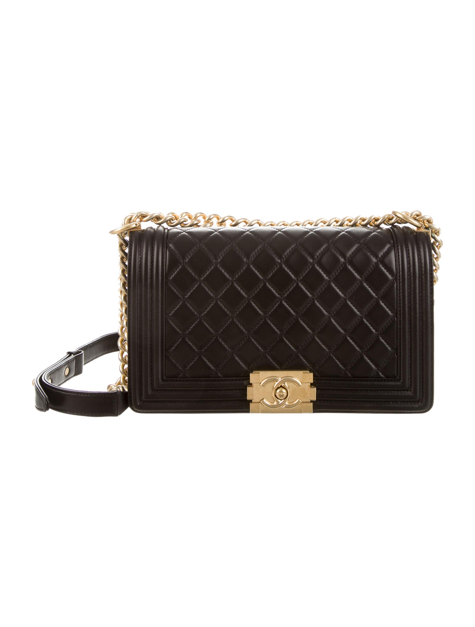 chanel-boy-bag-medium-black-quilted-leather