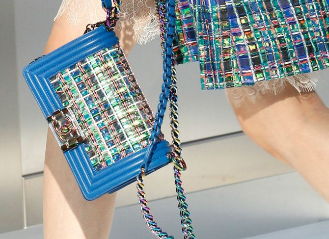 This accessible luxury brand took on the Chanel Boy bag, and we are obssesed!