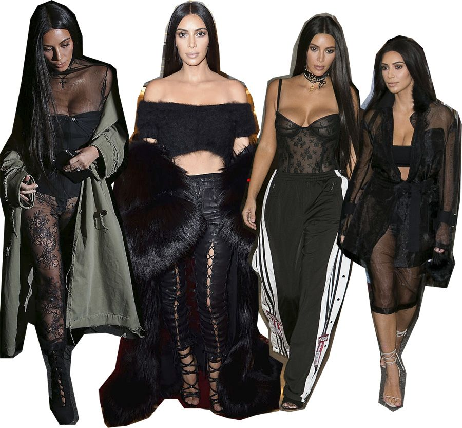 halloween-kim-kardashian-inspired-looks-black-sexy-outfits