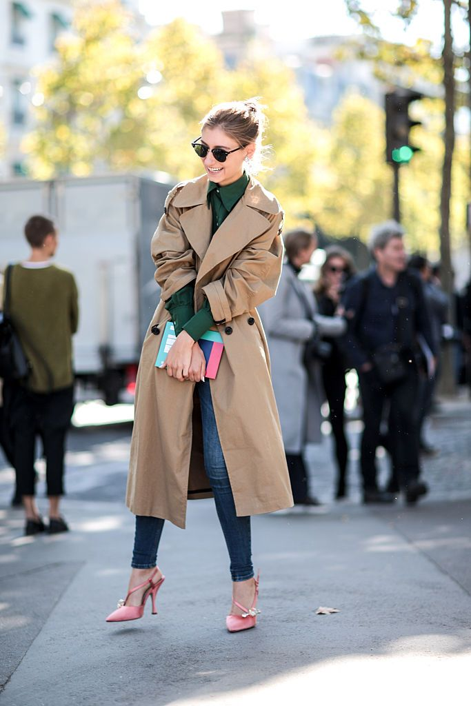 jenny-walton-trench-coat-street-style-paris-fashion-week