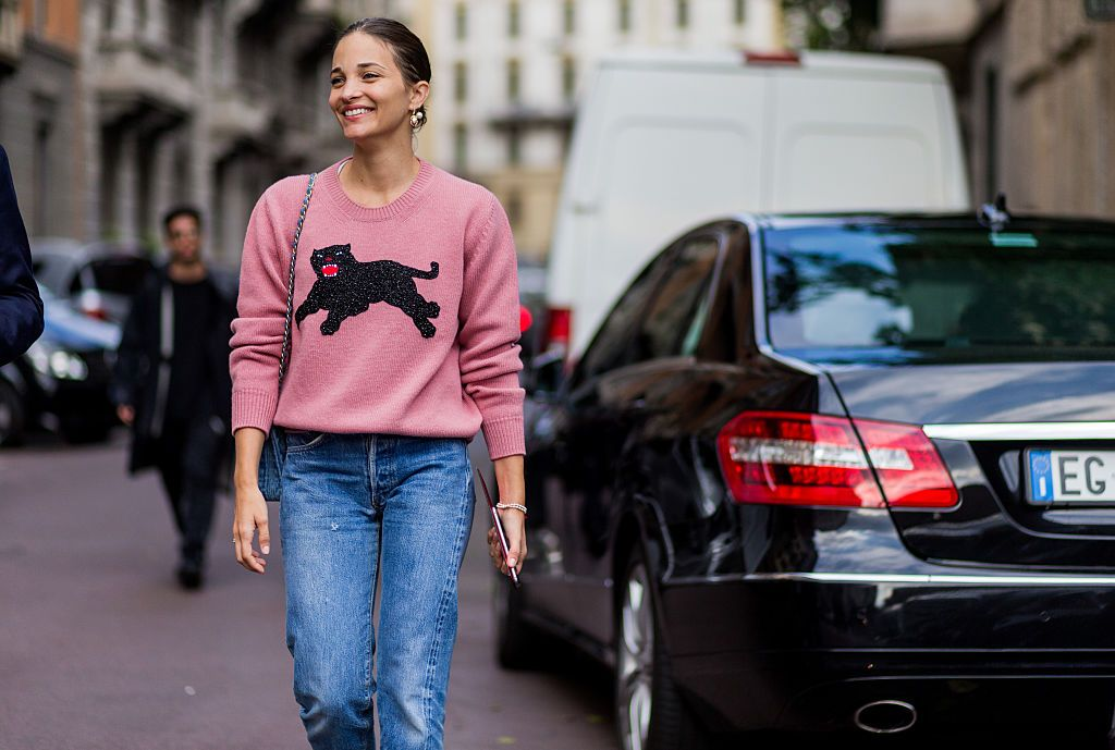 maria-duenas-jacobs-pink-sweater-gucci-black-panther