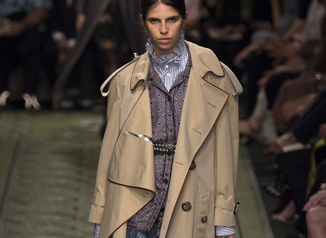 This fall, put a modern take on the trench coat