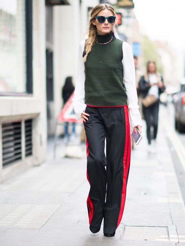 olivia-palermo-zara-side-stripe-trousers-fall-2016