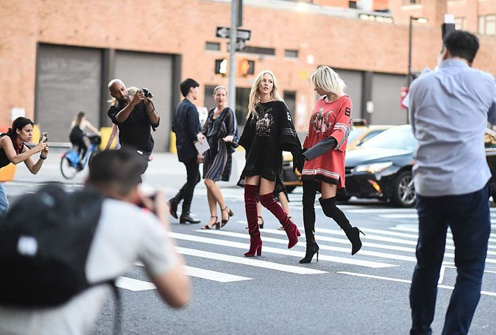 How to wear over-the-knee boots this winter (during the day, while staying chic)
