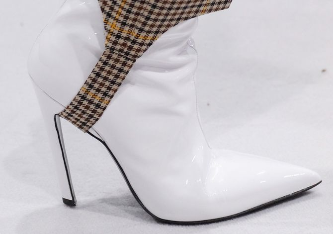 Why you should absolutely invest in a pair of white leather booties