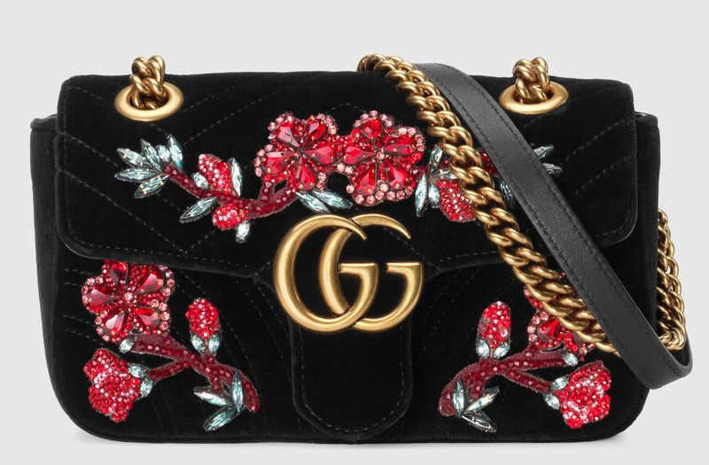 gucci-gg-marmont-black-chevron-crystal-flowers-embroidered-velvet
