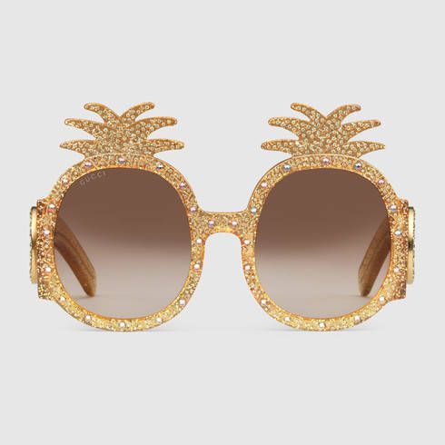gucci-pineapple-gold-metal-sunglasses-pre-fall-2017