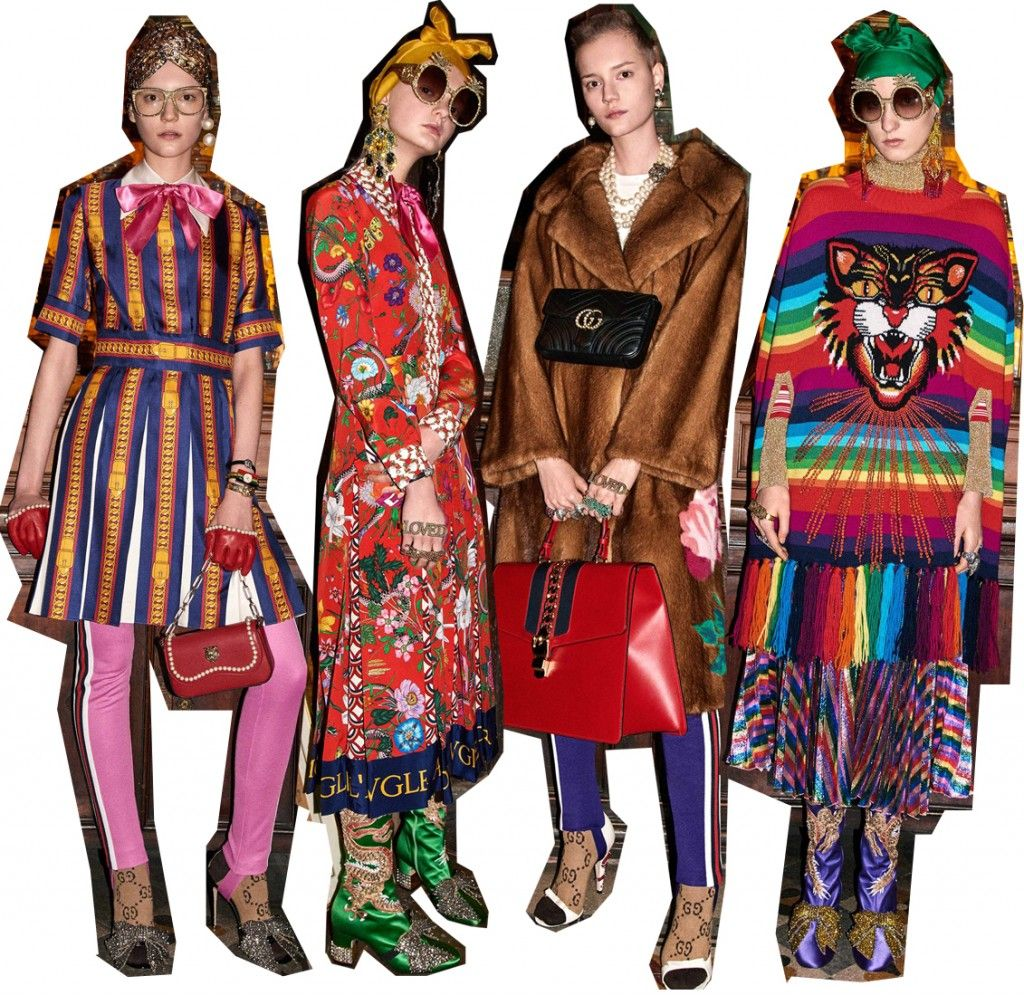 gucci-pre-fall-2017-collection-retro-vibrant-outfits