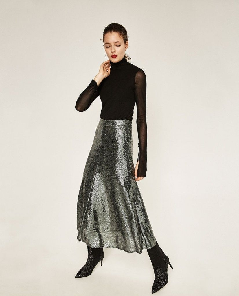 zara-sequinned-midi-skirt-outfit-evening-collection-winter