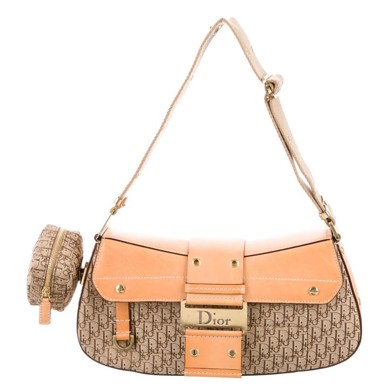 Christian Dior Diorissimo street chic Columbus bag available at TheRealReal.com