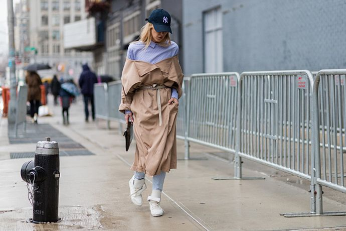 The layering formula every cool girl has been wearing in New York