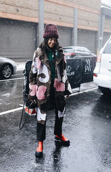 leandra-medine-snow-storm-style-new-york-fashion-week