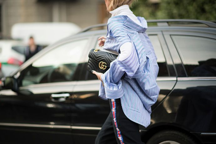 This is how you should be wearing your oversized shirts