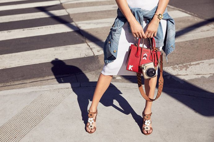 Fashion Month's most coveted accessory on the streets? Bag straps