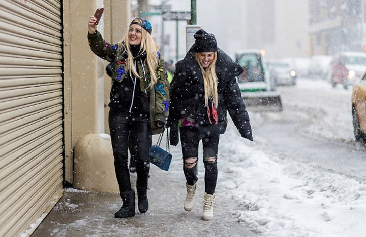 How to beat a blizzard in style (NYFW edition)