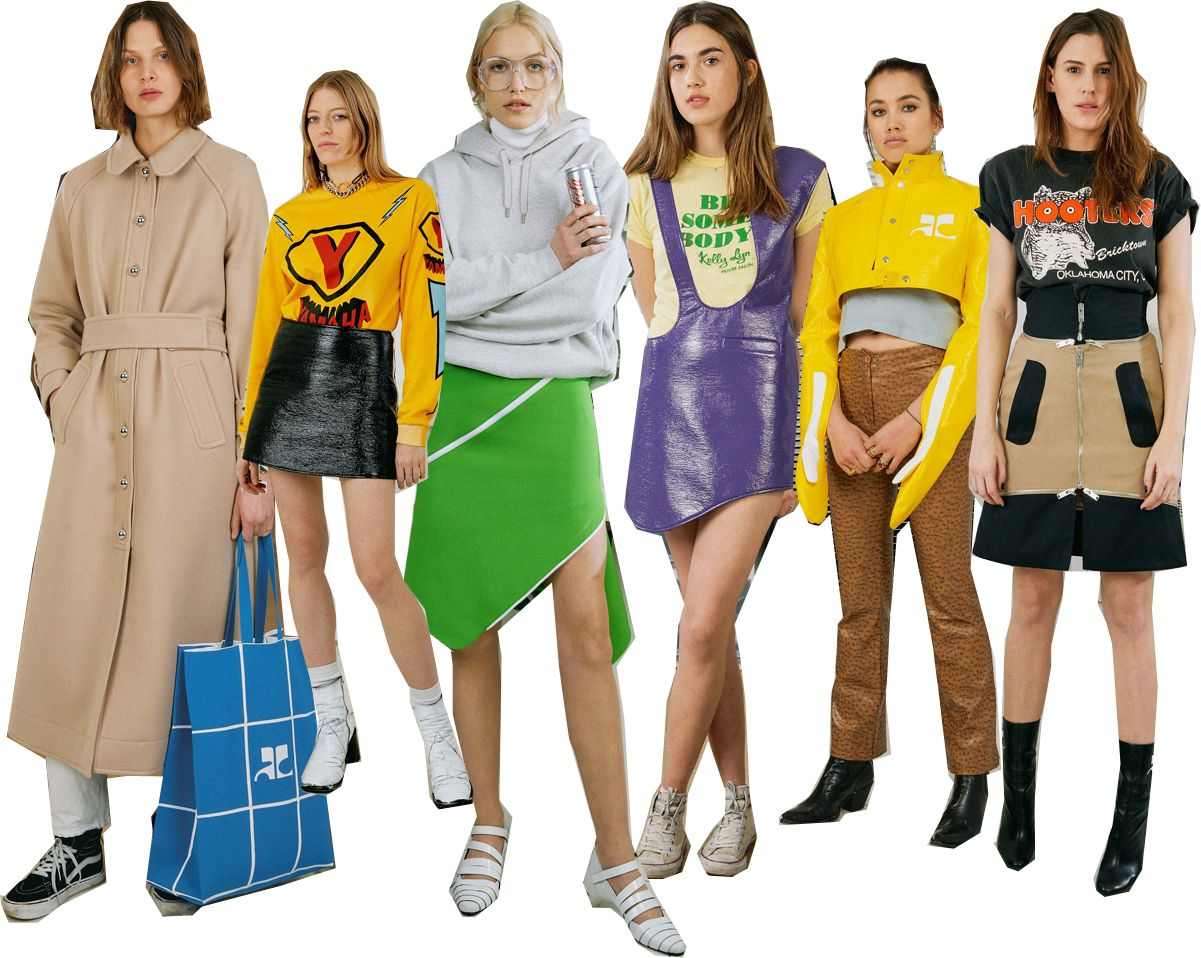 Courrèges just upgraded its cool (and those vinyl jackets, we're dying for)