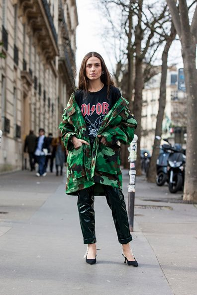 erika-boldrin-camouflage-parka-jacket-outfit-milan-street-style
