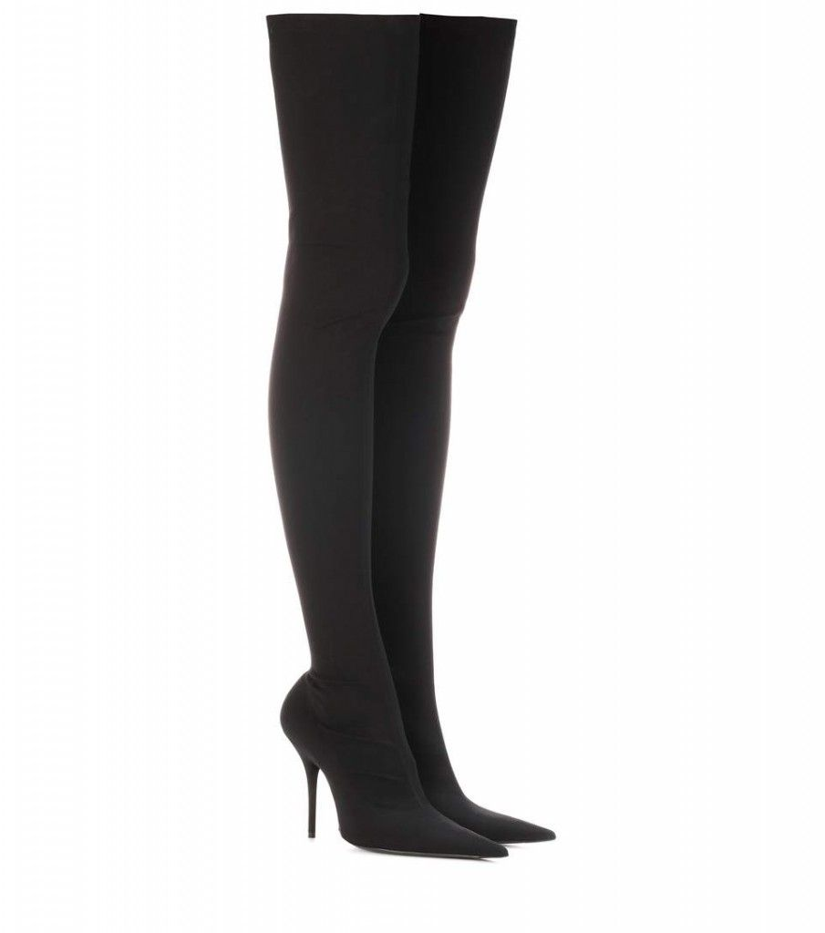 shop-balenciaga-knife-black-stretch-jersey-over-the-knee-boots