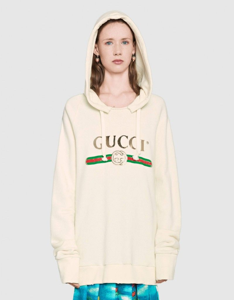 shop-gucci-hooded-sweatshirt-vintage-logo-embroidered-back-white-felted-cotton-kendall-jenner