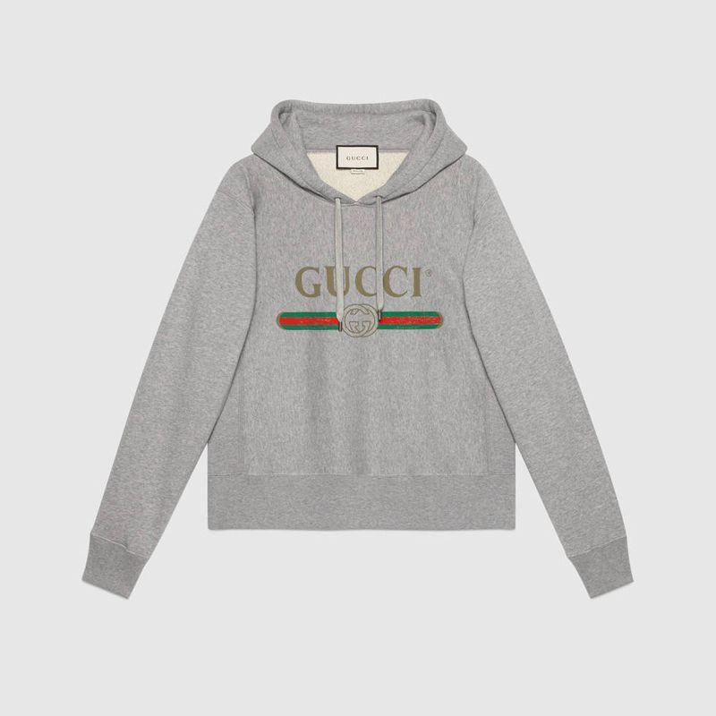 shop-gucci-hooded-sweatshirt-with-vintage-logo-print-grey-cotton