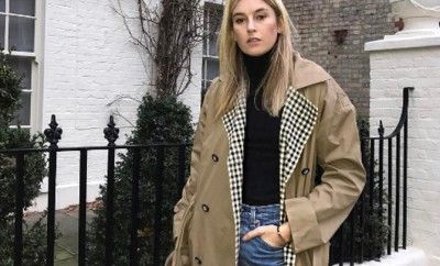 shop-isa-arfen-oversized-trench-coat-plaid-lapels-favourite-bloggers