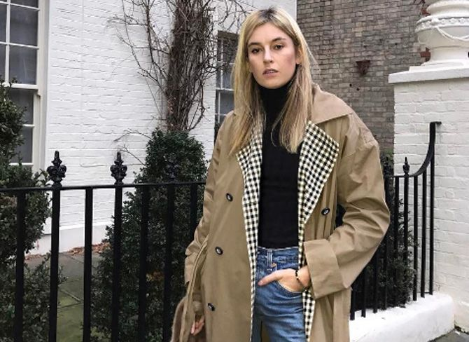 The trench coat cool girls can't stop wearing
