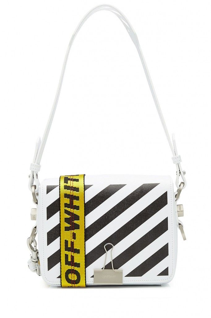 5df6c76dd5f2 Shop Off-White s Binder Clip Bag by designer Virgil Abloh