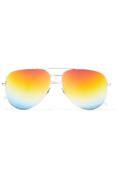 shop-saint-laurent-aviator-style-gold-mirrored-lenses-change-color-in-the-light
