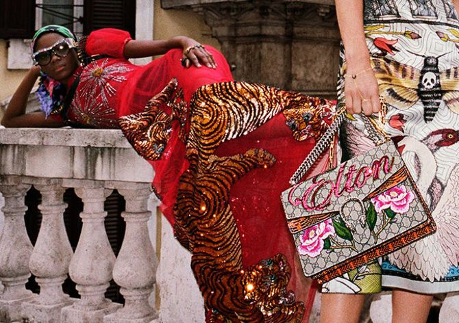 Did Alessandro Michele name a bag after Sir Elton John?