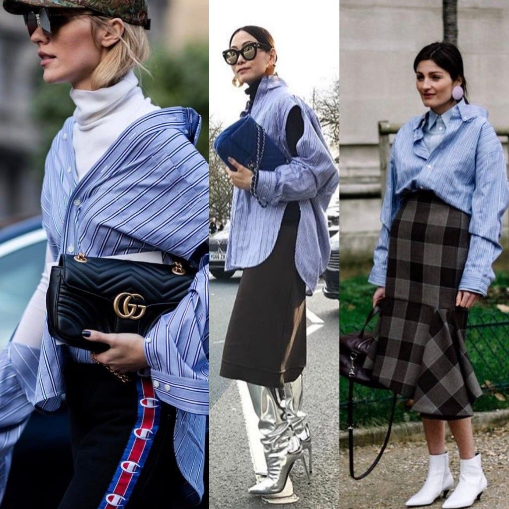 balenciaga-striped-oversized-shirt-split-sleeves-street-style-outfits