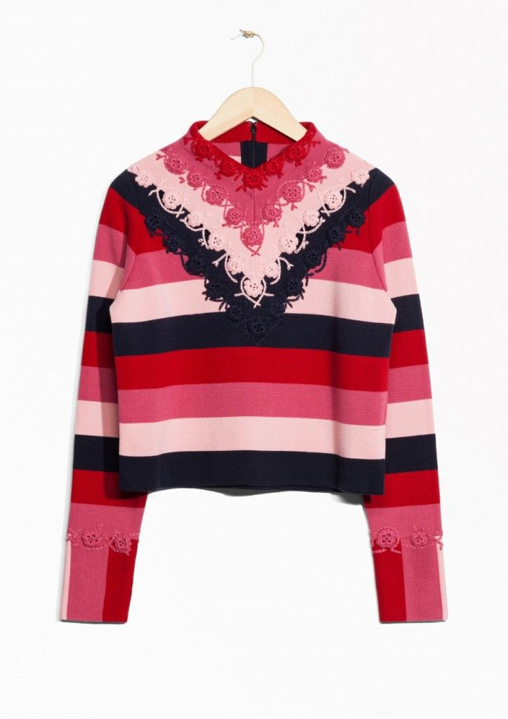 other-stories-crochet-striped-colour-blocking-sweater