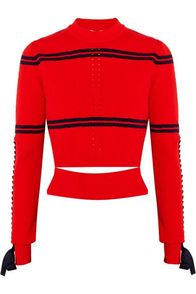 shop-fendi-cutout-faille-pointelle-knit-striped-sweater-spring-2017