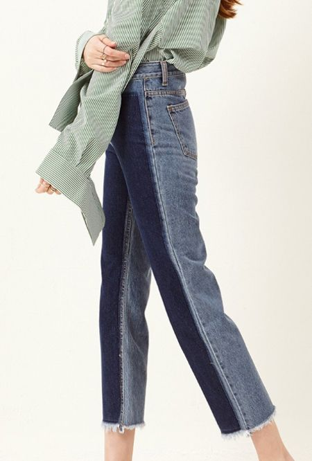 storets-two-tone-style-jeans