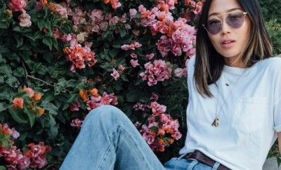 blue-jeans-white-tee-basic-outfit-formula-inspiration-influencers-aimee-song